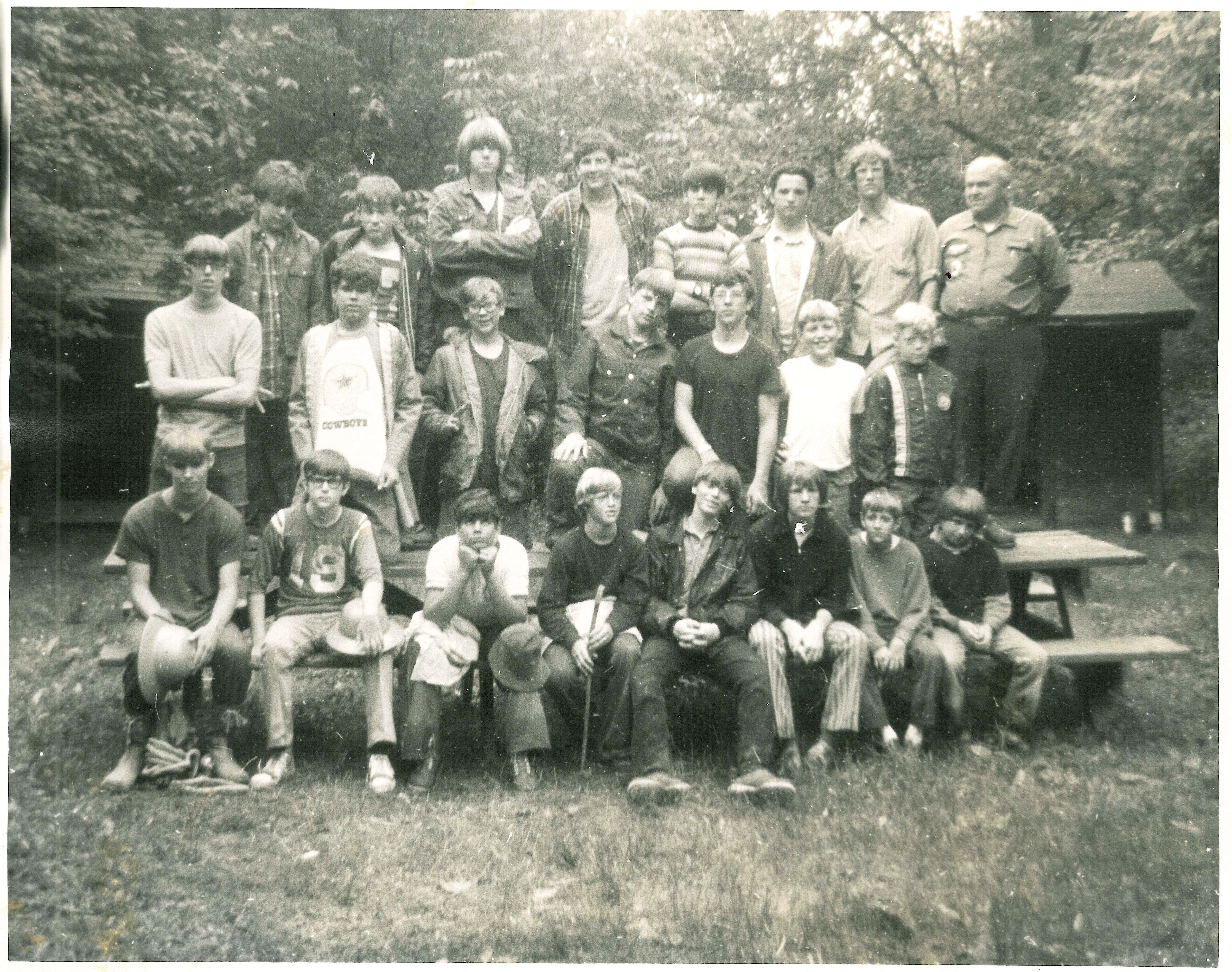 42) Pedersen Lodge Dedicated-1974 | Babcock-Hovey Alumni Association